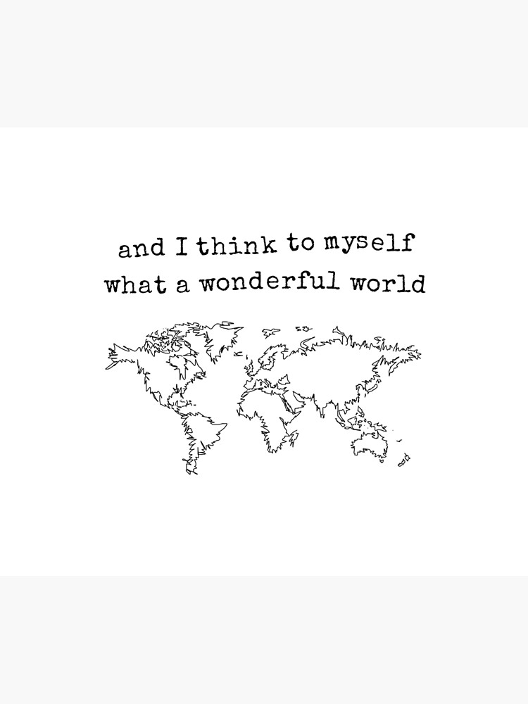 Wonderful World by IvonaVargek