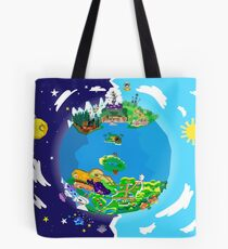 Paper Mario World Mashup Poster Tote Bag