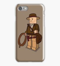 Lego Indiana Jones Harrison Ford Adventure Treasure iPhone Case/Skin