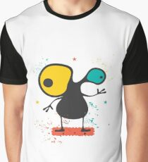 Cute Monster with emotions  Graphic T-Shirt