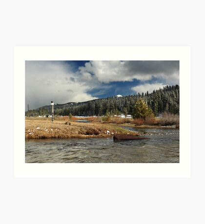 Deer Creek Meadows Art Print