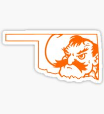Oklahoma Pistol Pete Sticker
