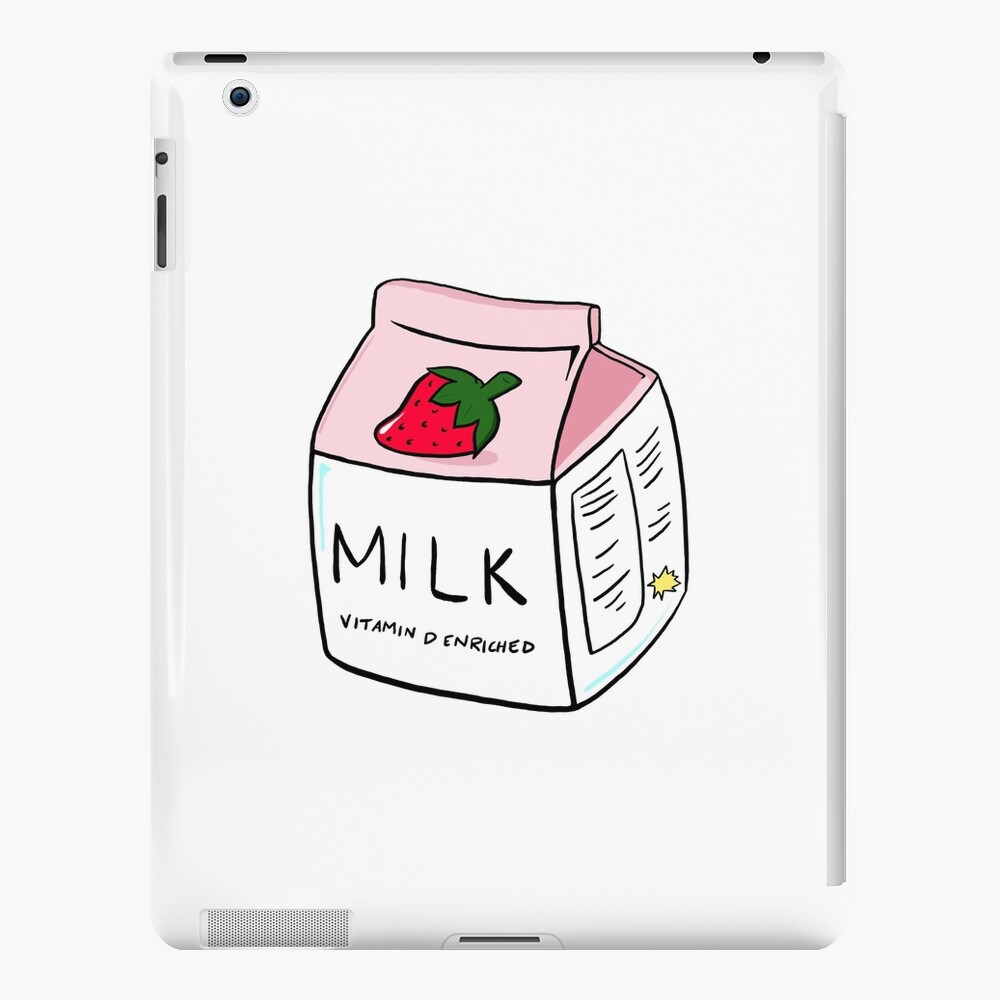 Erdbeermilch iPad-Hülle & Skin