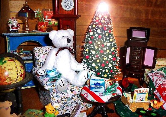 Christmas Eve at Rupert's by Nadya Johnson
