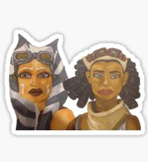 ahsoka tano and steela gerrera Sticker