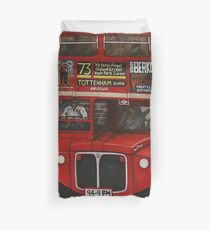 ROUTE MASTER BUS #73 Duvet Cover