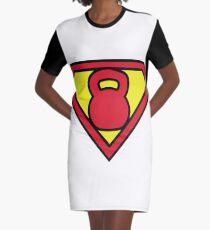 Super Kettlebell T-Shirt Kleid