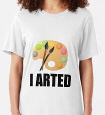 I arted Slim Fit T-Shirt