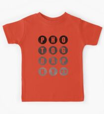 Photography Kids Tee