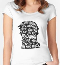 Sherlock's mind Women's Fitted Scoop T-Shirt