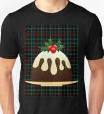 plaid christmas puddings  Unisex T-Shirt