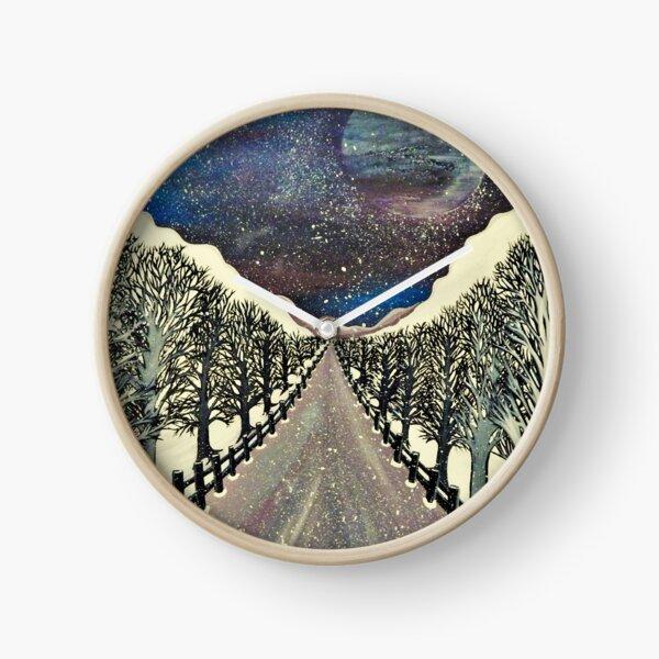 Take Me To The Moon Clock