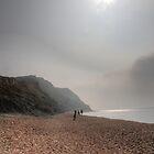 Hazy Beach by Phill Sacre