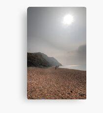 Hazy Beach Canvas Print