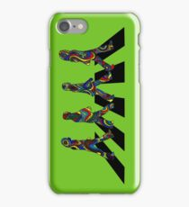 Groovy Beatles in the Crosswalk iPhone Case/Skin