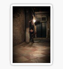 Night wandering 3 - high resolution Sticker
