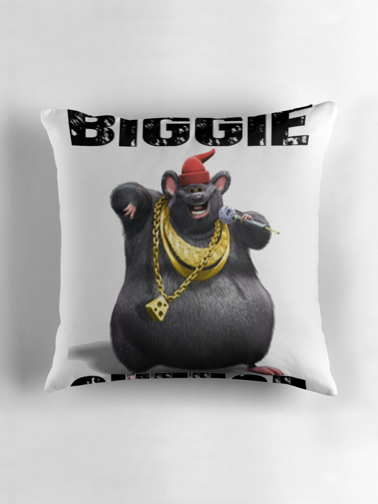 Quot Mind If Biggie Cheese Joins Quot Throw Pillows By Drasis
