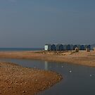 Beach Huts by Phill Sacre