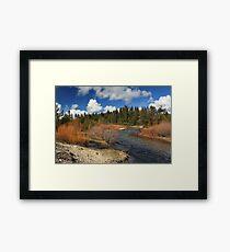 North Fork Deer Creek Framed Print