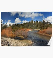 North Fork Deer Creek Poster