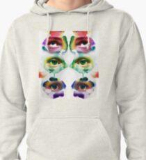 Watercolour eyes Pullover Hoodie