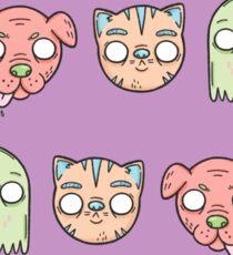 Animal Line Up Sticker