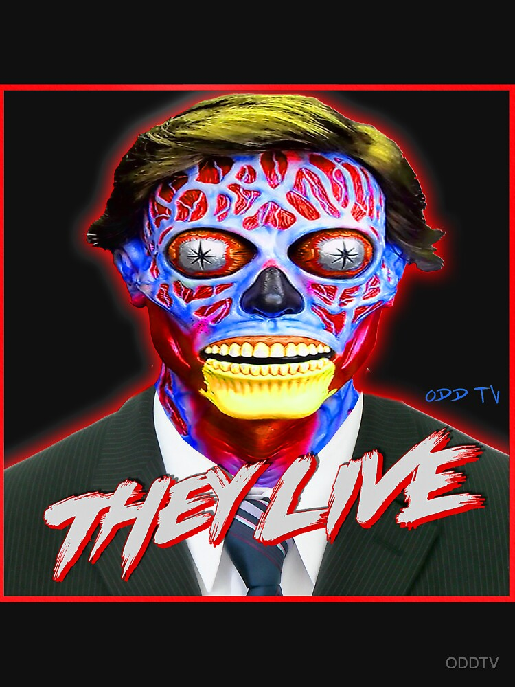 THEY LIVE - Red & Blue by ODDTV