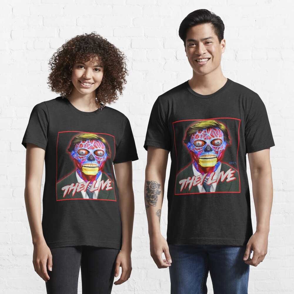 THEY LIVE - Red & Blue Essential T-Shirt