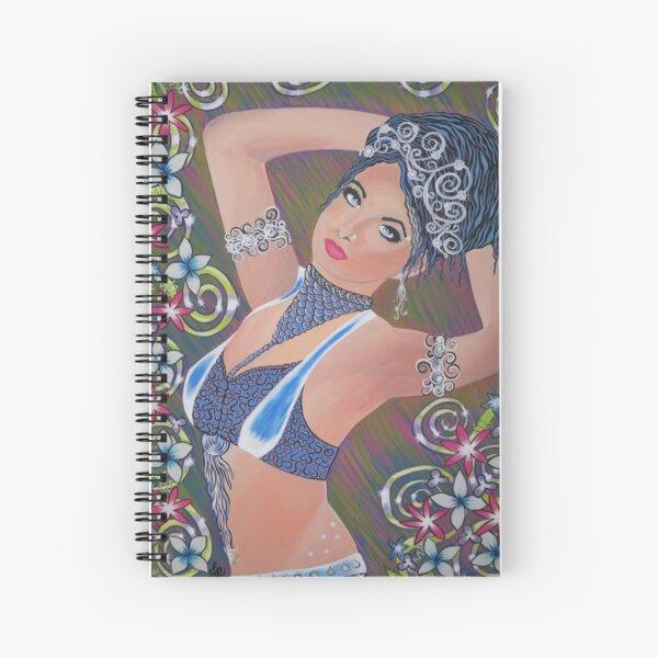 Belly Dancing Beauty Spiral Notebook