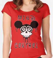 Mind Control Conspiracy Women's Fitted Scoop T-Shirt