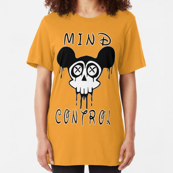 Mind Control Conspiracy Slim Fit T-Shirt