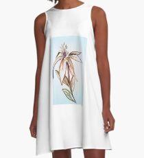 Flower 2 A-Line Dress