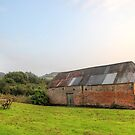 Country Barn in the evening by Phill Sacre
