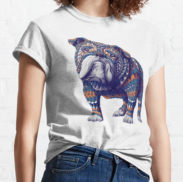 English Bulldog (Color Version) Classic T-Shirt