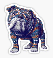 English Bulldog (Color Version) Sticker