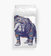 English Bulldog (Color Version) Duvet Cover