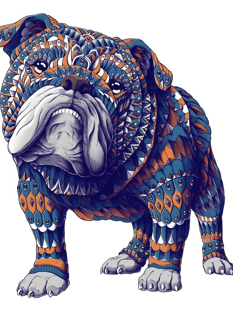 English Bulldog (Color Version) by BioWorkZ