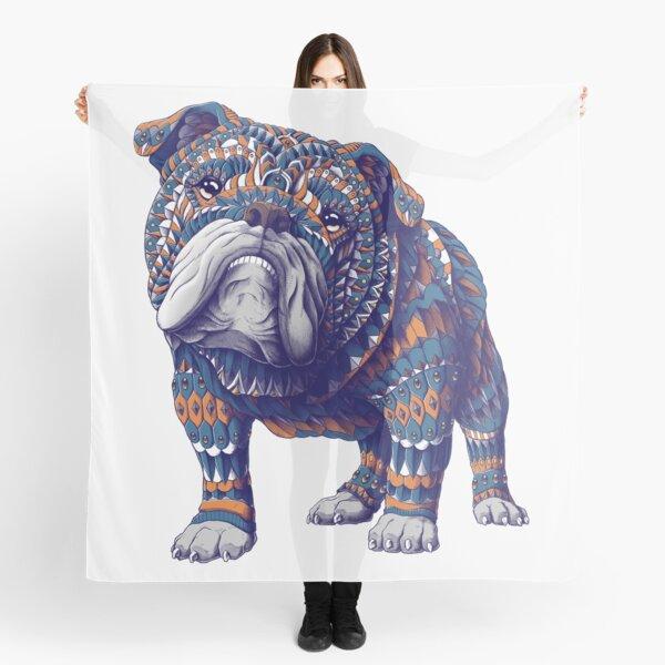 English Bulldog (Color Version) Scarf