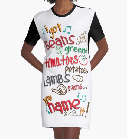 You Name It Graphic T-Shirt Dress