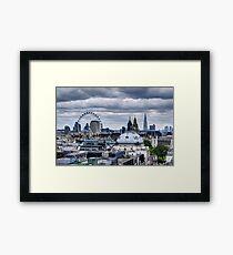 London at the Jubilee Weekend Framed Print