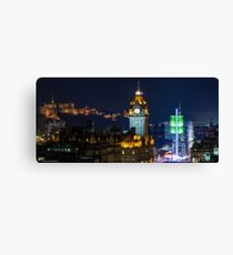 Edinburgh Christmas  Canvas Print