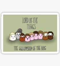 The Mallowship of The Ring Sticker