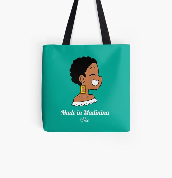 Vee from Martinique Tote bag doublé