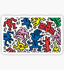 Keith Haring Crazy Sticker