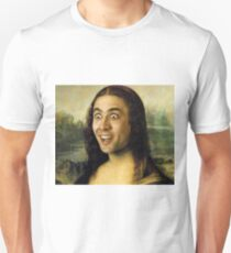 Nicolas Cage - Mona Lisa Unisex T-Shirt