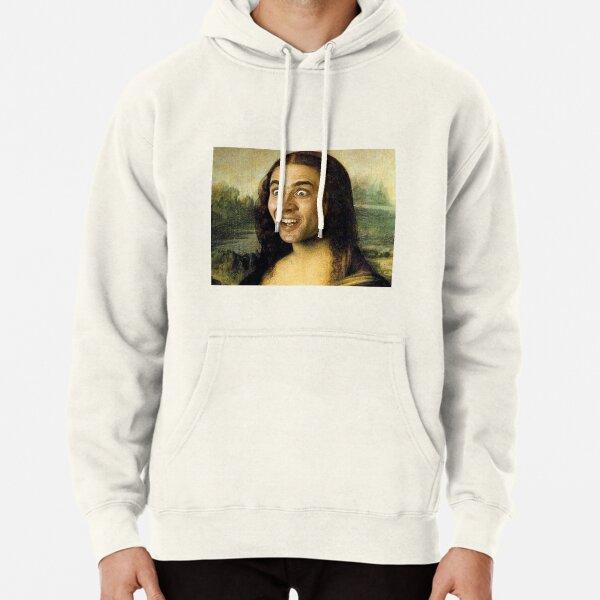 Nicolas Cage - Mona Lisa Pullover Hoodie
