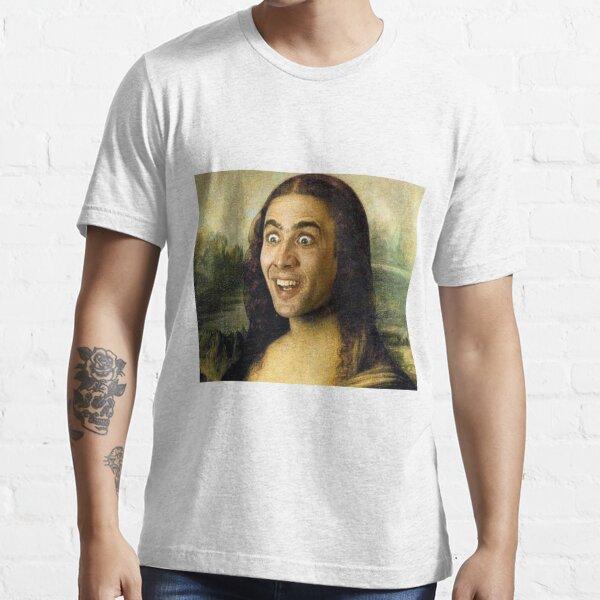 Nicolas Cage - Mona Lisa T-shirt essentiel
