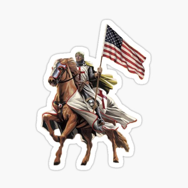 Trump Crusader Sticker