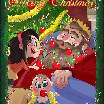 Christmas Beard by NiallByrne