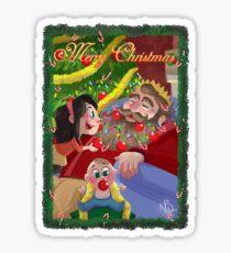Christmas Beard Sticker